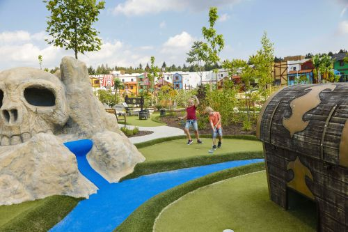 Piraten Golf im LEGOLAND Feriendorf