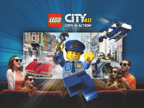 "4D-Film ""LEGO City 4D - Cops in Action"""