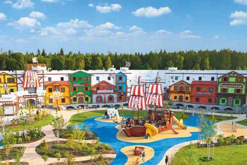 Pirateninsel Hotel im LEGOLAND Feriendorf